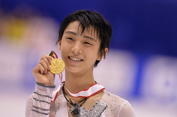 羽生結弦(はにゅう ゆづる)君、金メダルおめでとう!!